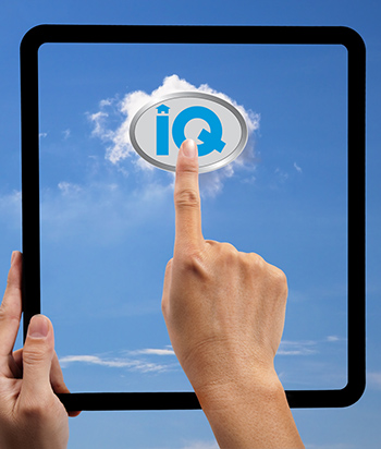 Tablet touch iQ logo